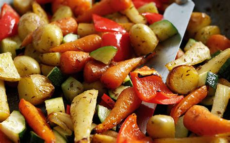 roasted vegetables honey roasted vegetables recipe dishmaps