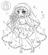 Coloring Yampuff Brides Stuff sketch template