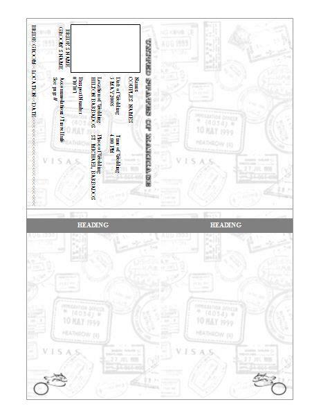 passport photo template passport invitation template pre designed barn kartor