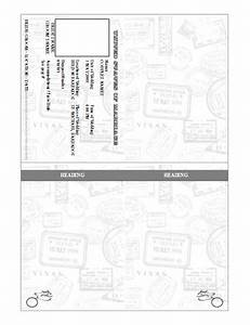 Pinterest o the worlds catalog of ideas for Save the date passport template