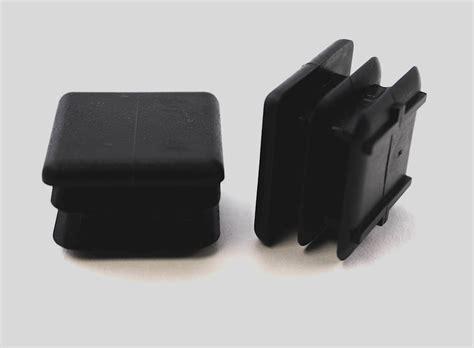 1 quot square multi chair leg insert black item 30