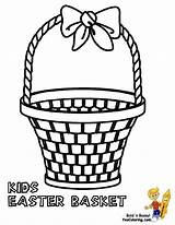 Basket Easter Coloring Pages Baskets Empty Boys Printable Template Colouring Yescoloring Apple Bushel Kid Clipart Handsome Picnic Templates Comments sketch template
