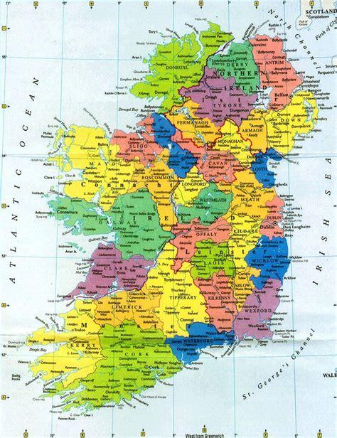 printable map  ireland map  ireland plan