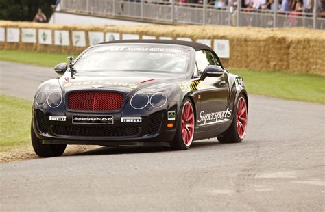 Bentley Isr Continental Gt Swaps Ice For Goodwood Hill