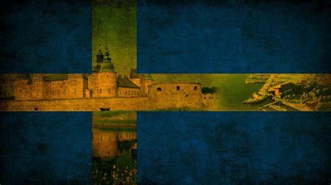 flag swedish sweden wallpapers scandinavian weneedfun wallpapersafari deviantart wallpapercave
