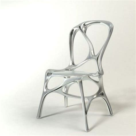 aluminium chair  peter donders chair design