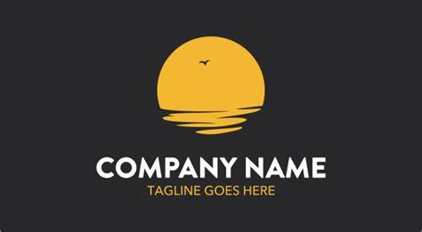 sunset logo logos graphics