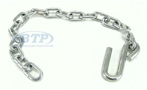 Boat Trailer Safety Chain by Boat Trailer Safety Chain Zinc Plated 1 4 Quot Thickness 27