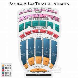 Fox Theater Oakland Seating Chart Fox Theatre Detailed Seating Chart Brokeasshome Com
