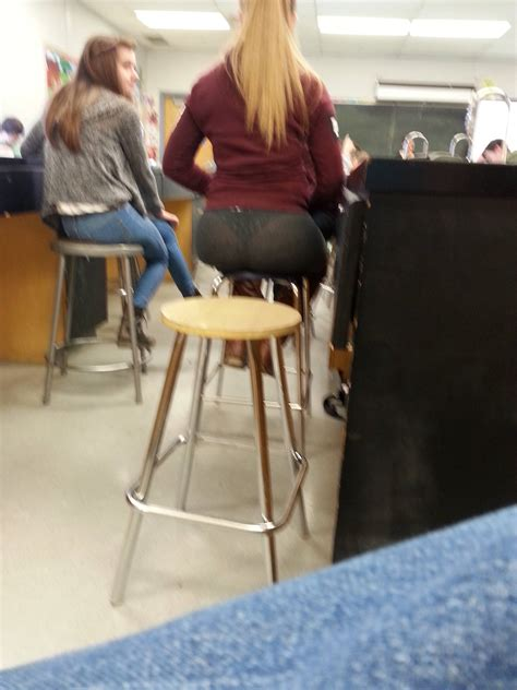 hot high school blonde thong whale tail creepshots