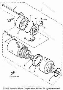 Yamaha Motorcycle 1985 Oem Parts Diagram For Starting