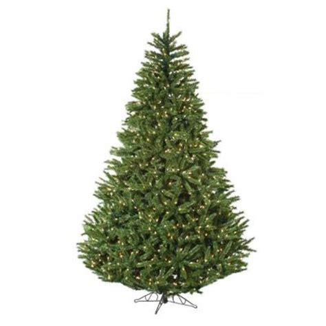 sterling nine foot flocked led trees 301 moved permanently