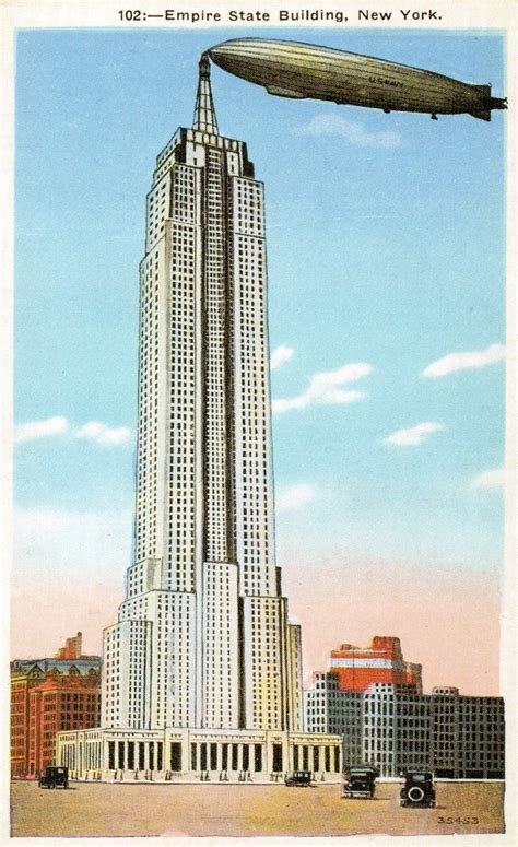 The Empire State Buildings Airship Terminal Ephemeral