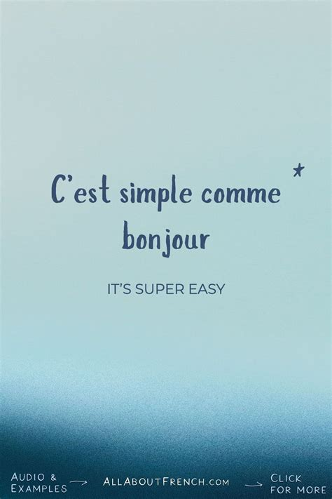 Learn French idioms with FREE audio examples | Basic ...