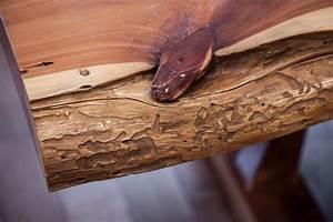 Cedar Slab Table Vale Lorin Bruck Design