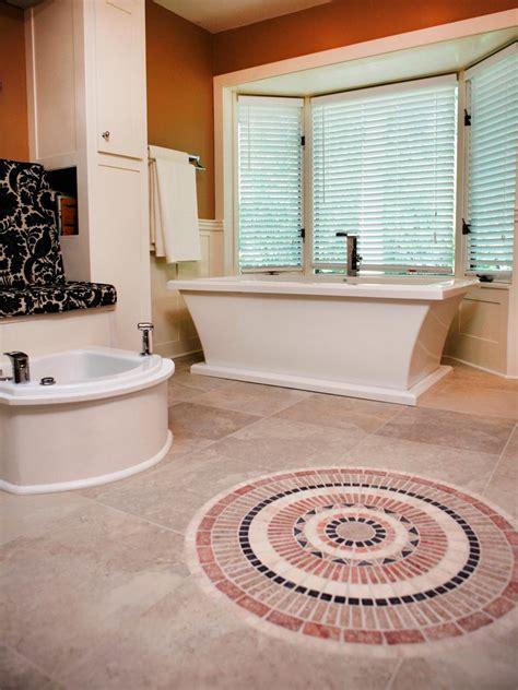 diy bathroom tile ideas beautiful bathroom floors from diy network diy