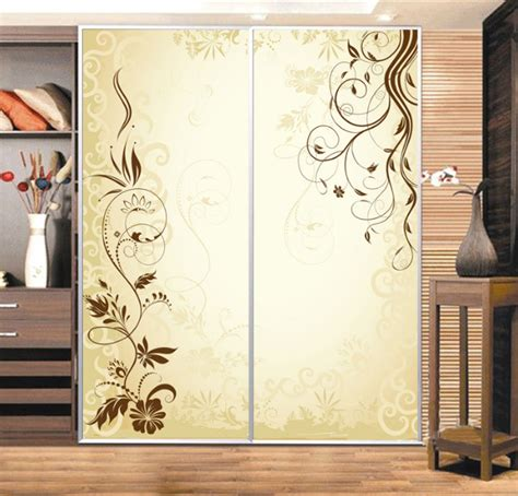 stickers porte placard cuisine custom cabinet stickers closet sticker simple golden vine