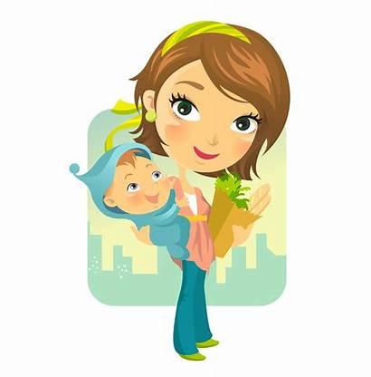 Cartoon Mother Clipart