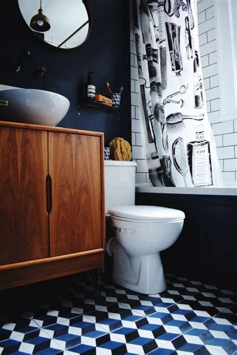 bathroom decorating ideas inspiration patterned tiles