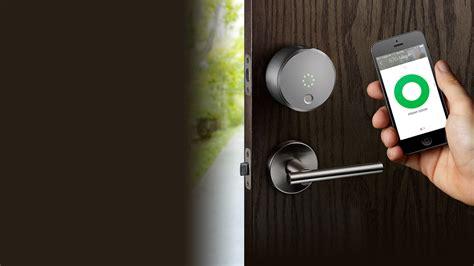 august door lock comcast ventures invests in smart home innovator august home