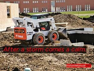 Bobcat Skid Steer Loader Manual  After A Storm Comes A