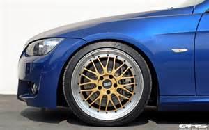bbs le mans design le mans blue bmw e92 335i hops on bbs lm wheels autoevolution