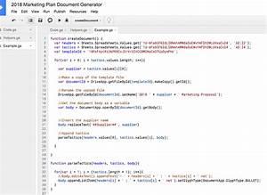 create google docs from a google sheet practical ecommerce With google docs app script