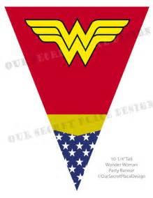 Wonder Woman Party Free Printables