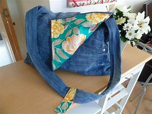 How to Create a Messenger Bag from Your Old Jeans | re-cycle re-create re-love....
