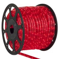 rope light 150 red mini rope light commercial spool 120 volt