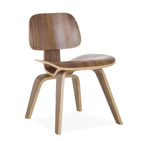 uitverkoop eames stoelen stoel plywood walnut eetkamer versie design stoelen dcw