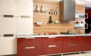 Kitchen Backsplash Ideas With Wood Cabinets by Modern Wood Kitchen Design Kitchens