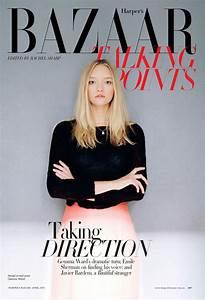 Gemma Ward for Harper's Bazaar Australia