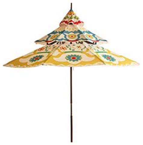 Black Pagoda Patio Umbrella by 9 Foot Pagoda Umbrella Outdoor Umbrellas By Pier 1 Imports