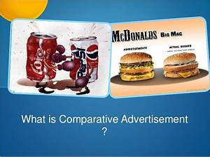 Comparative Advertisement and Product Disparagement