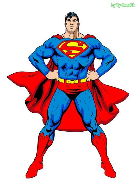 Superman (final Color) By Supertybone82 On Deviantart