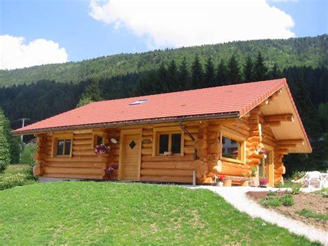 chalet en rondin prix stand la pessiere rh 244 ne alpes constructeurs maisons bois