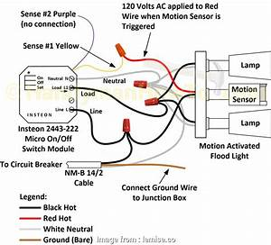 Light Switch Wiring  Red Wires Simple Motion Sensor Light