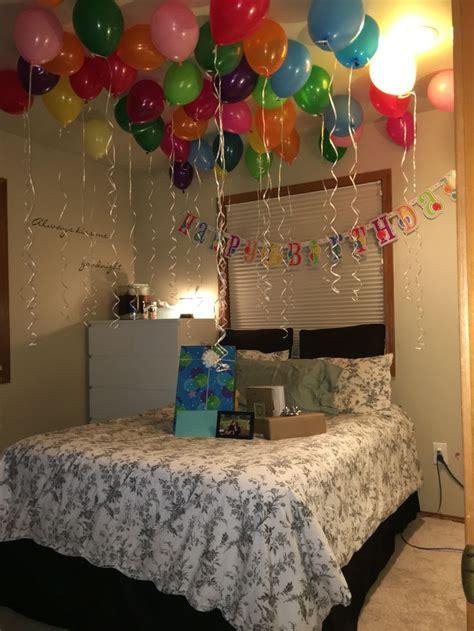 Best 25+ Birthday Room Surprise Ideas On Pinterest