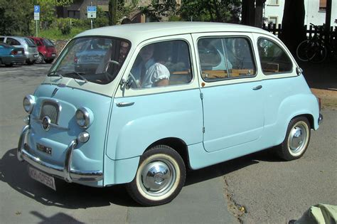 Fiat Multipla 600 by 1955 Fiat 600 Multipla Related Infomation Specifications