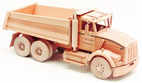 kenworth dump truck  woodworking patterns