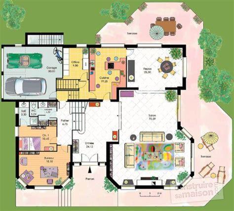 cuisine divinement plan d une maison plan d 39 une maison d