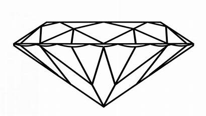 Coloring Diamond Pages 3d Printable Getcolorings Pag