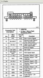 99 Chevy Blazer Radio Wiring Harnes