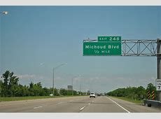 Interstate 10 East New Orleans East to Mississippi