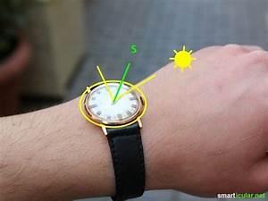 Kompass Selber Bauen : wozu einen kompass kaufen benutze einfach deine armbanduhr ~ Lizthompson.info Haus und Dekorationen