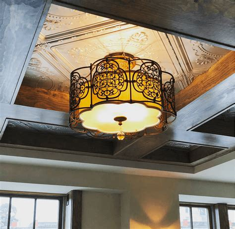 Ceiling Boarding by Inside The Gorgeous Rustic Chic Hotel Owned By Ree