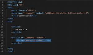 Add Comments To Your Firebase Application With Hyvor Talk