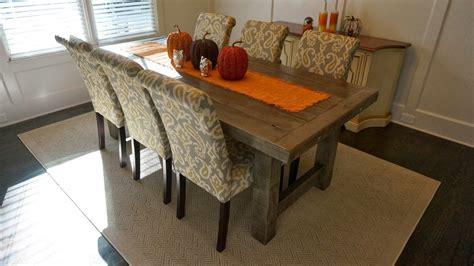 clayton farm table custom handcrafted rustic trades