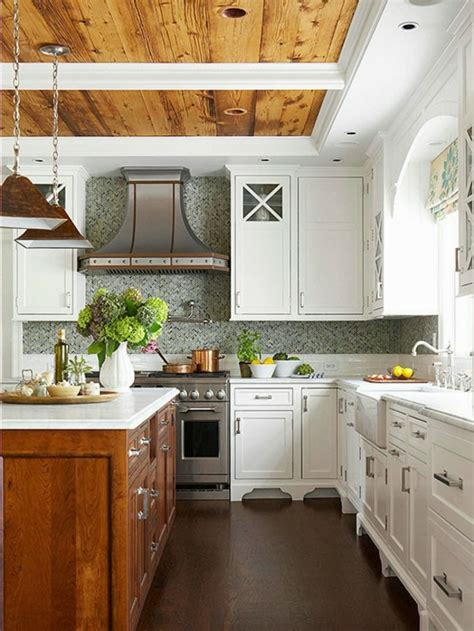 cuisines rustiques bois les plus belles cuisines rustiques en images archzine fr
